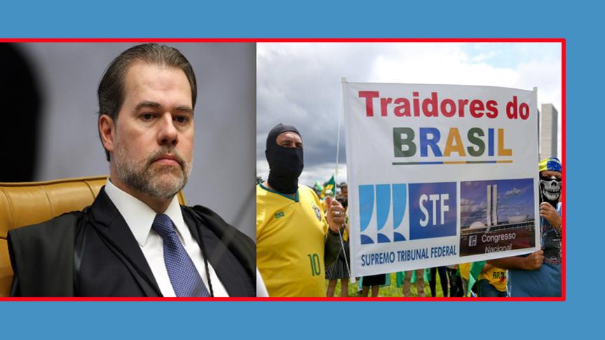 Supremo de Brasil repudia amenazas de simpatizantes deBolsonaro
