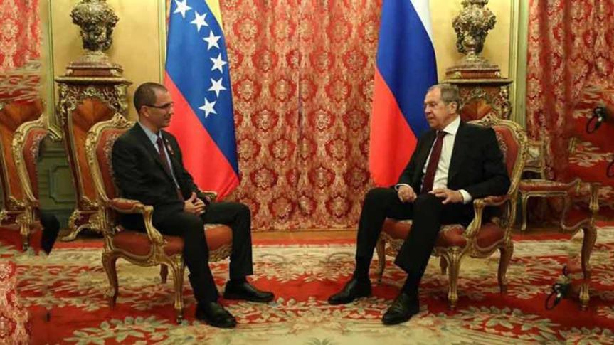 Rusia y Venezuela sincronizan temas decooperación