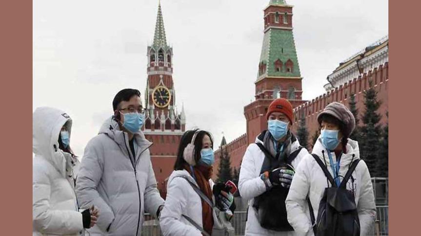 Rusia con cerca de siete mil muertes porCovid-19