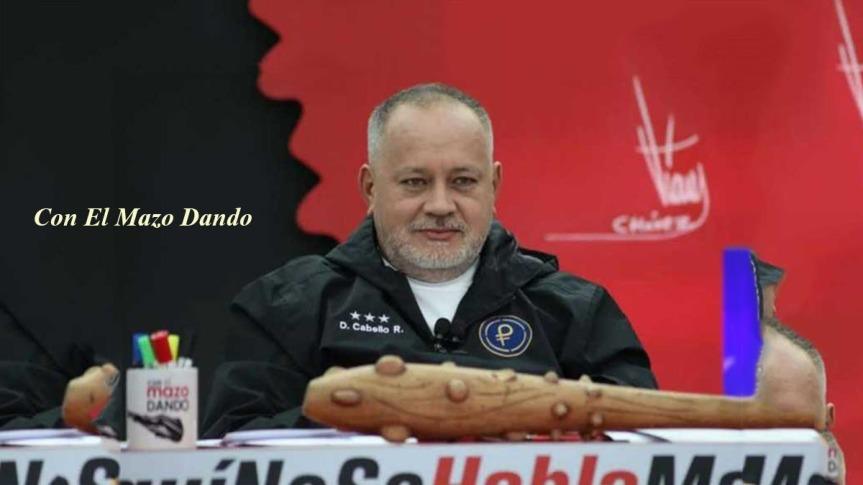 Diosdado Cabello invita a la Colombia profunda a no permitir una guerrafratricida