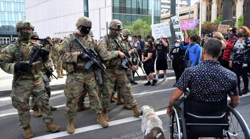 CAOS SOCIAL Y RACIAL EN EE.UU. | Joe Biden denuncia a Trump por usar al Ejército contra manifestantesestadounidenses