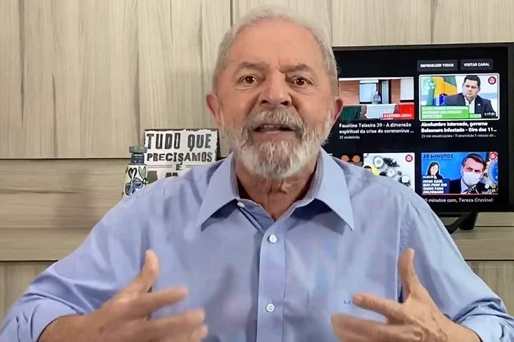 Lula defiende impeachment a Bolsonaro para salvar vidas enBrasil