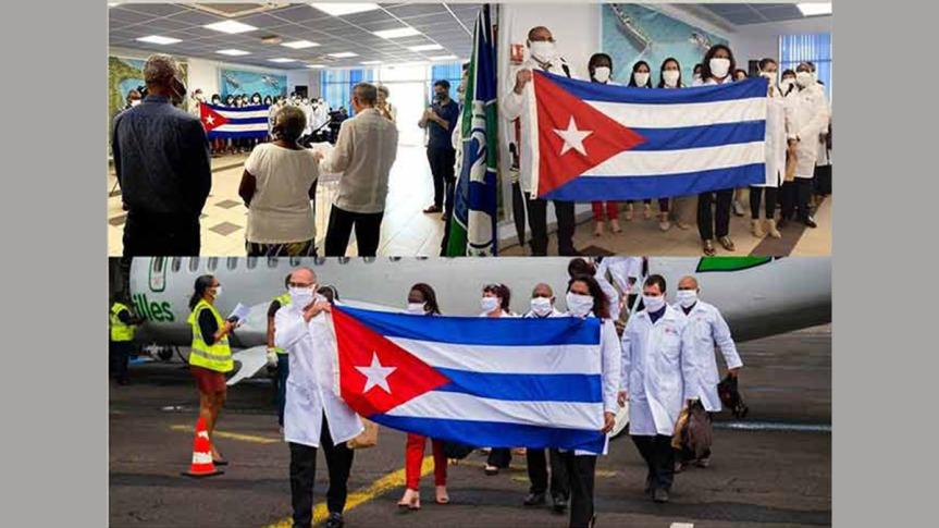Amplia repercusión por primera misión médica de Cuba en suelofrancés