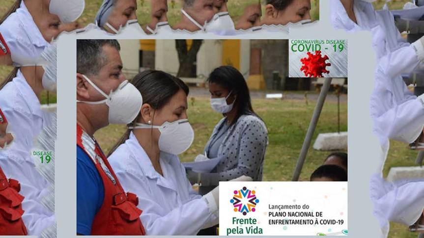 Organizaciones de salud en Brasil presentan plan contraCovid-19