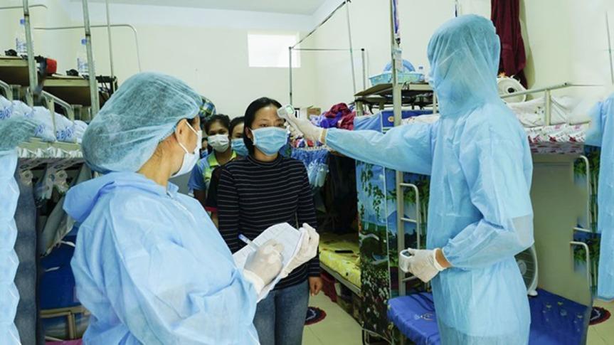 Casos de Covid-19 en Vietnam solo aumentan a cuenta derepatriados