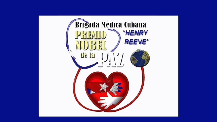 Francia: llaman a pedir en redes sociales Nobel para médicos deCuba