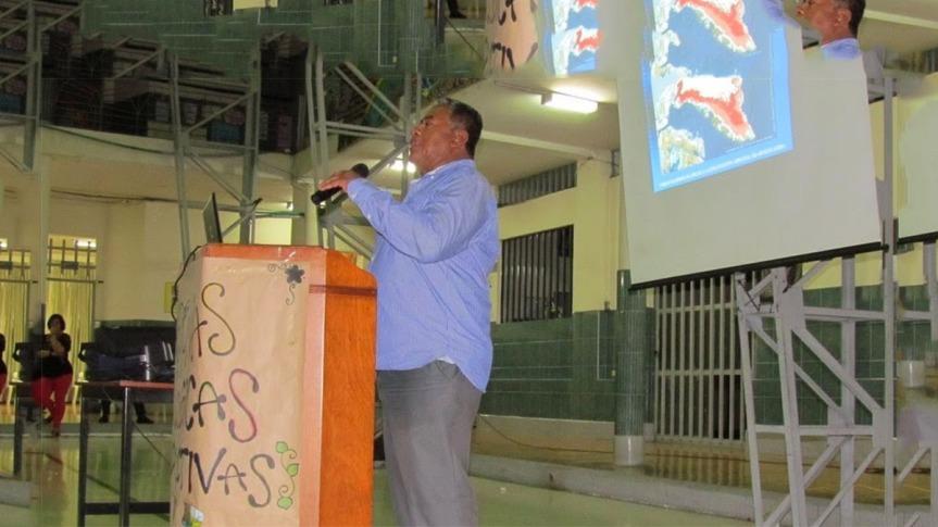 Discurso de Óscar Rivera Luna Agrónomo yAmbientalista