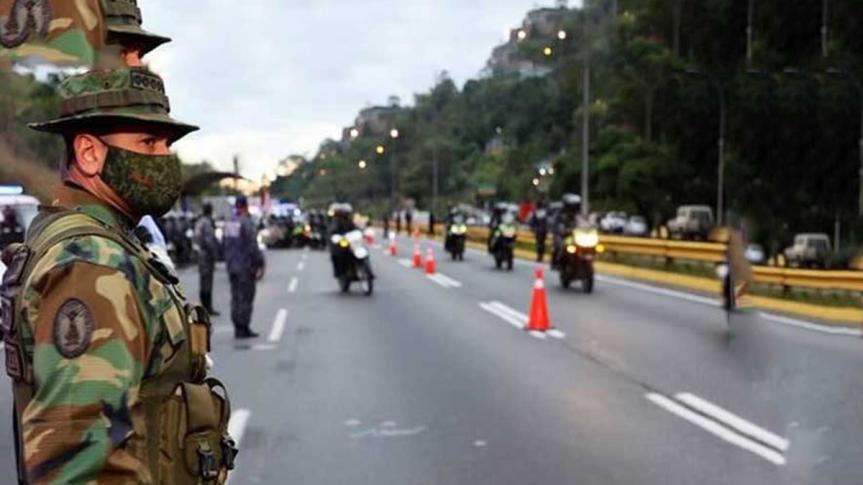 Despliegan barreras de contención en estados venezolanos por laCovid