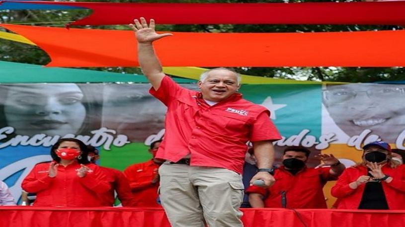Diosdado Cabello: Revolucionarios que resulten electos el 6D le devolverán la AN al PuebloLegislador